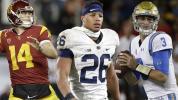 NFL mock draft: Barkley falling behind QBs