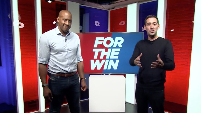 For The Win: Colin Murray and Dion Dublin are joined by Alan Pardew