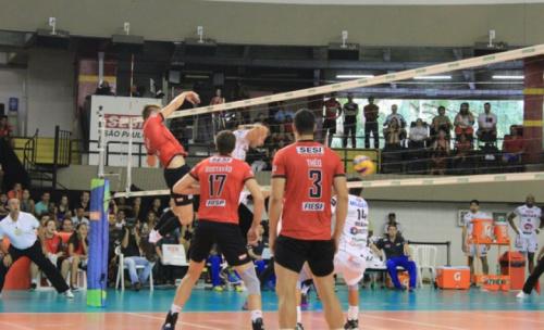 Funvic Taubaté e Sesi-SP abrem as semifinais da Superliga masculina
