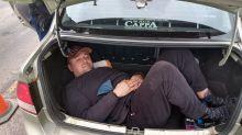 Un empresario que vende armas llevaba en el baúl a un exsoldado de elite ucraniano que entró ilegalmente al país
