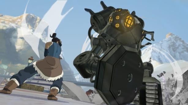 Who let the polar bear dogs out - Platinum's Legend of Korra did