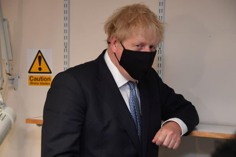 UK PM Johnson set to overhaul Britain's treason laws: The Mail on Sunday