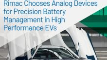 Rimac Chooses Analog Devices to Enable Precision Battery Management in High Performance Electric Vehicles