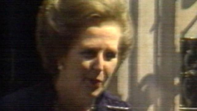 Margaret Thatcher to Receive Ceremonial Funeral