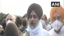 'Extremely unfortunate': Sukhbir Singh Badal on Presidential assent to farmers and J-K bills