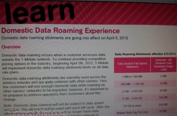 T-Mobile to tighten the purse strings, limit data roaming starting April 5th