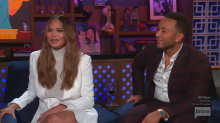 Chrissy Teigen says insecurities led to 'major blowout' with John Legend at Kimye's wedding