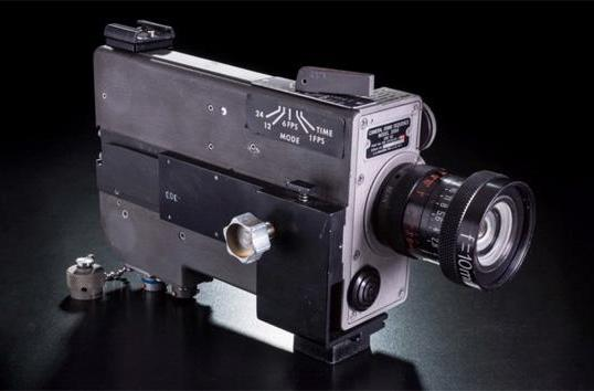 Neil Armstrong kept the original moon landing camera in his closet