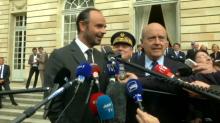 """A Bordeaux, Edouard Philippe assure à Alain Juppé qu'il a """"toujours adoré bosser"""" avec lui"""