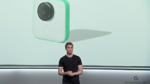 GoPro slides as Google announces its tiny Clips camera