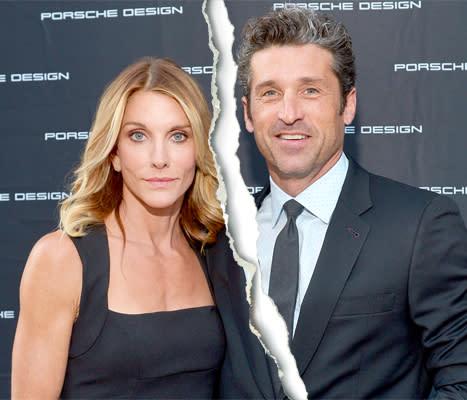 Patrick Dempseys Wife Jillian Fink Files For Divorce After 15 Years