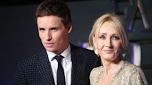 Eddie Redmayne says 'vitriol' aimed at J.K. Rowling's transgender comments is 'disgusting'