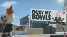 Is Jack in the Box's new ad really offensive or are people just busting his bowls?