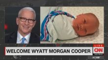 Anderson Cooper introduces his new baby boy to the world
