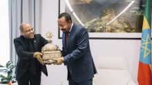 Looted 18th century crown returned to Ethiopia after decades
