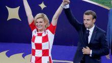 A la presidenta croata le persiguen las fotos suyas falsas en bikini desde que ganó las elecciones