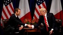 Donald Trump fan d'Emmanuel Macron