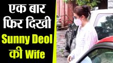 Sunny Deol's Wife Pooja Deol Snapped In Juhu while doing Shopping