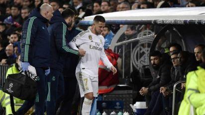 Hazard se lesiona e pode voltar a jogar futebol apenas em 2021