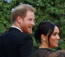 Meghan Markle is gorgeous in sparkly black gown to attend Misha Nonoo's wedding in Rome