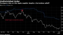 Apple Supplier Loses Half Its Value But Foreign Funds Just Won't Sell