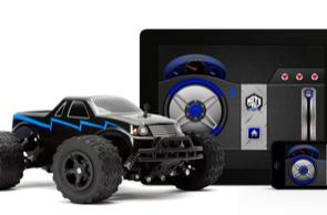 Griffin MOTO TC Monster truck offers Bluetooth control, so-so software