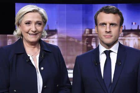 Macron acusa a Le Pen de propagar mentiras