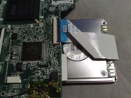 Aspire One modding continues: swapping SSD for capacious HDD