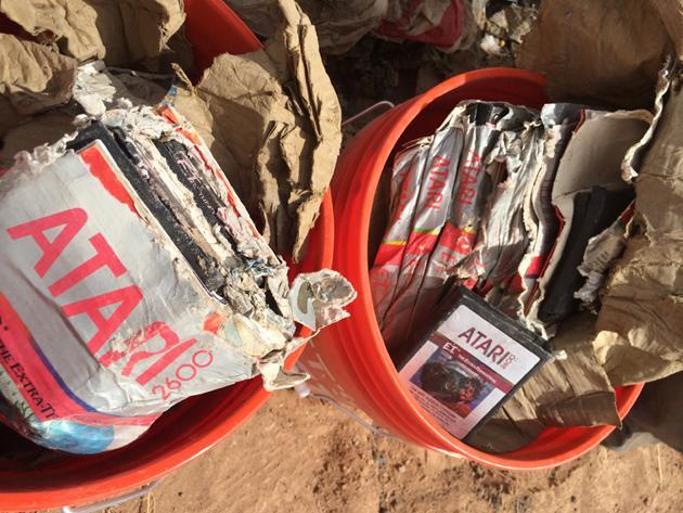 You can buy those excavated 'E.T.' cartridges at auction soon