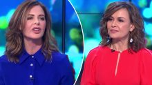 TV star Trinny Woodall drops shock C-bomb on The Project