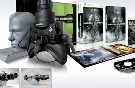 Modern Warfare 2's Prestige Edition includes fully functioning night vision goggles