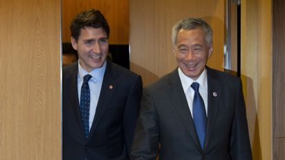 Trudeau eyes free trade deal with Asian nations