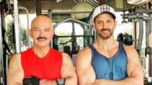 Hrithik Roshan Returns to Work After Father Rakesh's Surgery