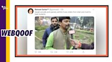 BJP Leader 'Exposed' Party's Role in JNU Violence? Fake Alert!