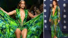 J.Lo, 50, stuns in famous Versace dress 20 years after Grammy debut