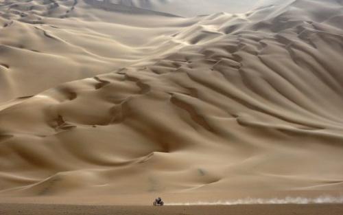 autoridades deportivas peruanas esperan a miles de visitantes en el campamento del Rally Dakar 2013