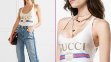 Gucci Designs a Swimsuit For £290 Except it Cannot be Used for Swimming!