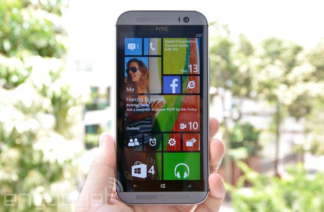 HTC's next Windows Phone is coming to Verizon with an awkward name