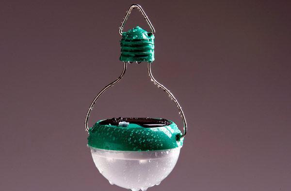 Nokero's solar-powered, rainproof N200 light bulb: brighter, stronger, more flexible