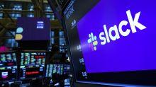 Slack jumps after raising outlook, beating rev. estimate