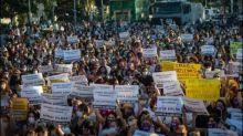 Tausende Frauen protestieren in der Türkei gegen häusliche Gewalt