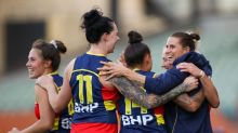Crows fly past Demons to AFLW grand final