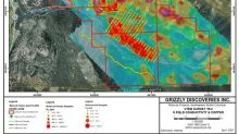 Grizzly Identifies Geophysical Targets at Its Robocop Cobalt-Copper-Silver Property in Southeastern British Columbia, Canada