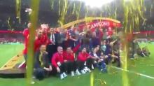 El detalle de la celebración del Barça que más comentarios está generando