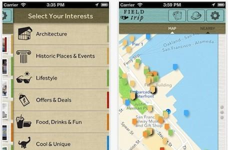 Google releases new iOS app 'Field Trip'