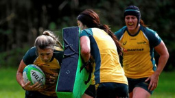 Green Machine and tough Turner fire Australia's women