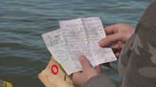 Women find letters in a bottle written by high school students 18 years ago — on the day before 9/11