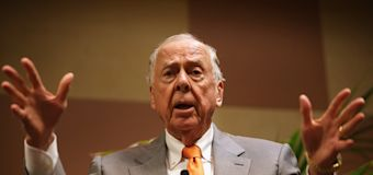 T. Boone Pickens: 'You can just never, ever, give up'