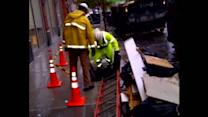 Local energy workers work to restore power in NYC