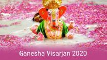 Ganpati Visarjan 2020: Date and Importance of Anant Chaturdashi